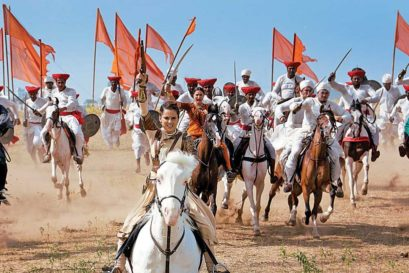 A scene from Manikarnika: The Queen of Jhansi