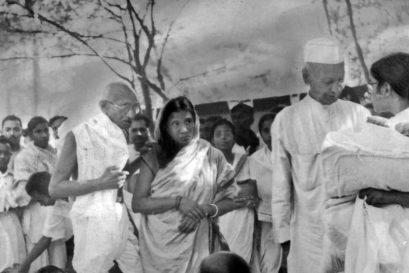 Gandhi in Champaran, 1917