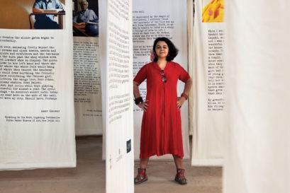 Manisha Gera Baswani at the Kochi-Muziris Biennale