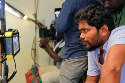 Pa Ranjith at his studio in Chennai