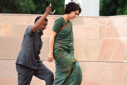 Priyanka Gandhi in Delhi