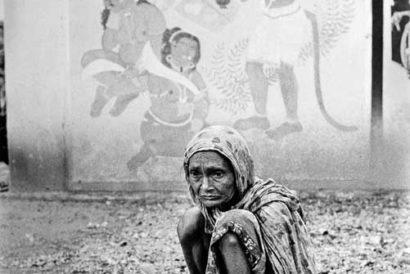 Sita by Jyoti Bhatt, silver gelatin print (1974)
