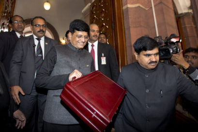 Acting Finance Minister Piyush Goyal