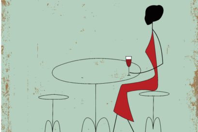 The Pleasures of Eating Alone in a Public Space