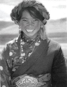 Tibetan girl, Paryang (Courtesy: Soul Survivors: Apa Tani, Konyak, Tibetan Nomads)