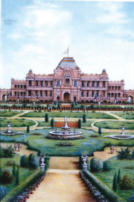 The Jagatjit palace and gardens (Courtesy: Prince and Patron and Patriarch: Maharaja Jagatjit Singh of Kapurthala)