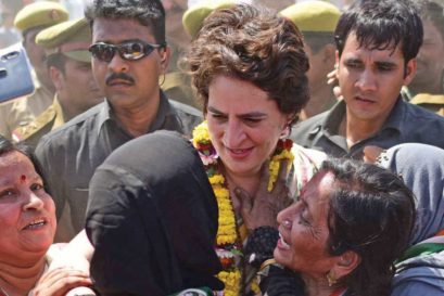Priyanka Gandhi in Varanasi, March 20