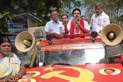 Su Venkatesan CPM candidate from Madurai