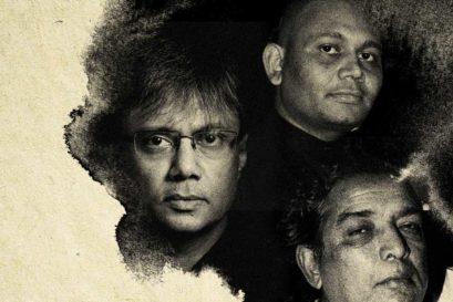 (Clockwise from top) Amit Chaudhuri, Abhay K, Kaifi Azmi