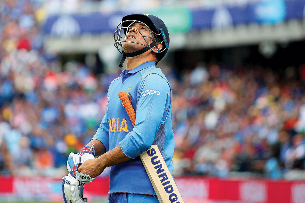 Mahendra Singh Dhoni, 38, Cricketer - Open The Magazine