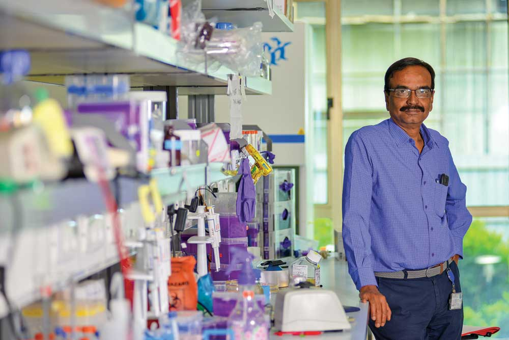 SK Dasgupta, Tata Institute for Genetics and Society