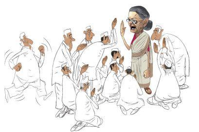 Back to Gandhi, Desperately