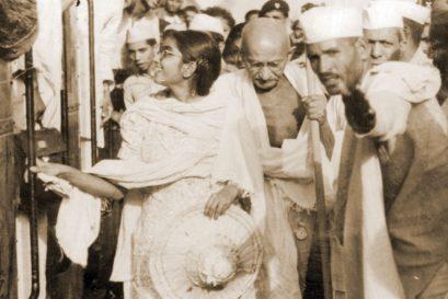 Manu saw Gandhi as a woman, her mother