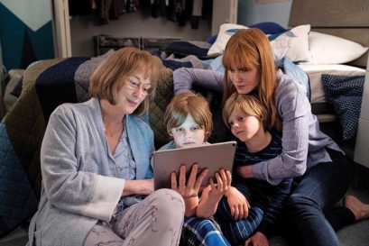 Meryl Streep and Nicole Kidman in big little lies