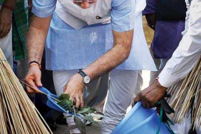 How Modi Gave Gandhian Motifs a Contemporary Urgency