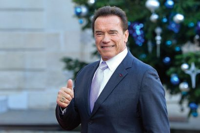 'Old age sucks,' says Arnold Schwarzenegger