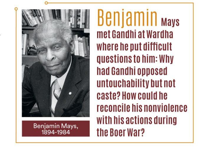 Gandhi in African American eyes