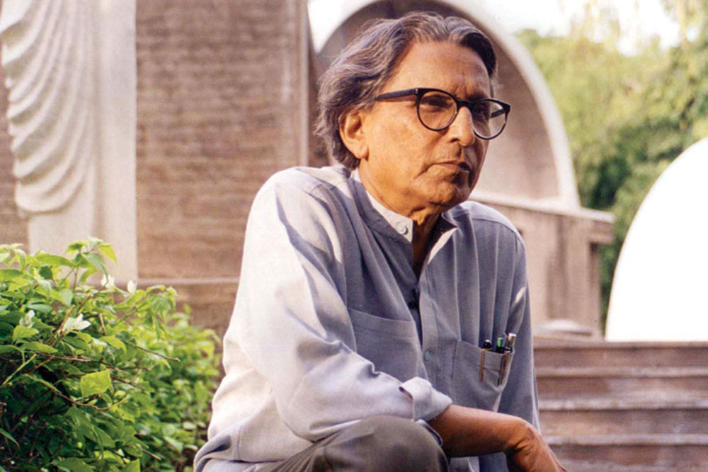 BV Doshi: The Highest Guru of Urban Design