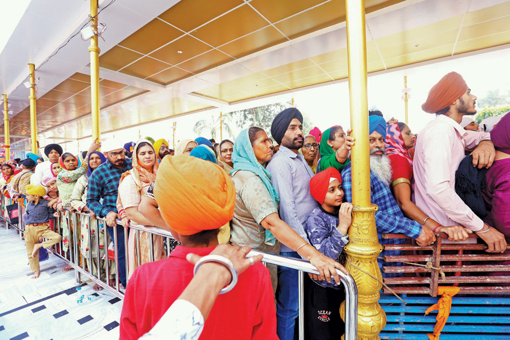 The Long Walk to Kartarpur