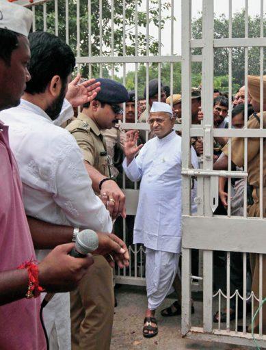 Anna Hazare (Anti-corruption activist): Staying Put