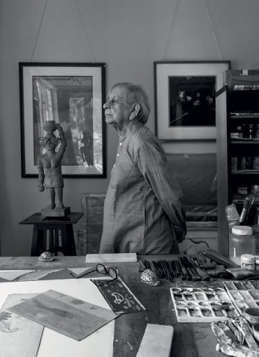 Ganesh Haloi: 'Painting starts from an understanding and ends in wonder'