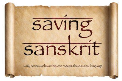 Saving Sanskrit