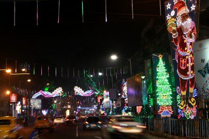 Yuletide in Kolkata