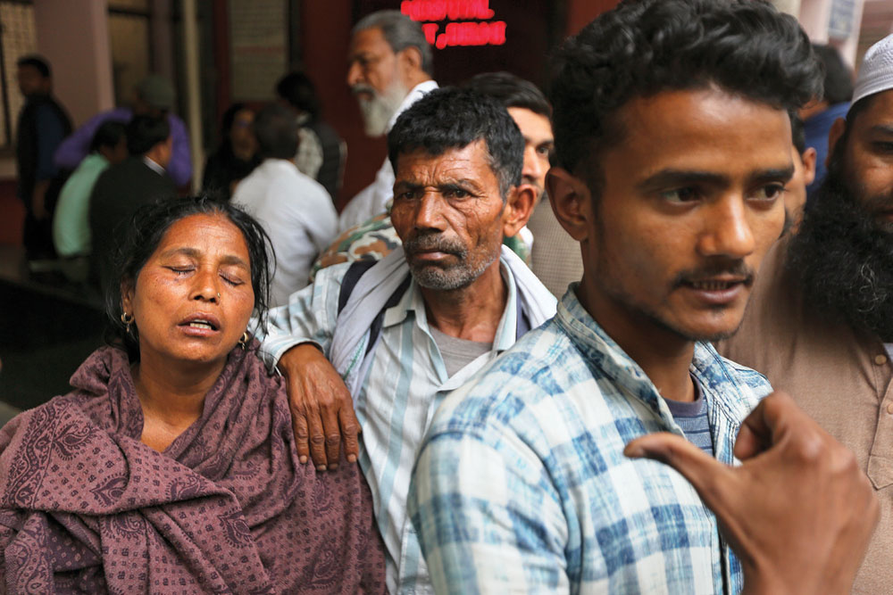 'In the mortuary everyone becomes the same; there is no Hindu or Muslim'