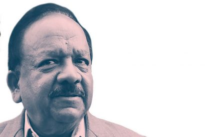 DR HARSH VARDHAN, Union Minister for Health and Family Welfare