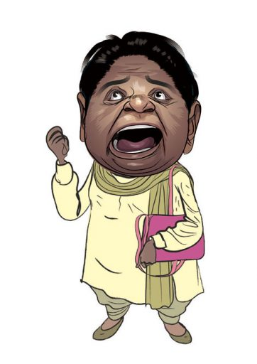 Mayawati's New Turn