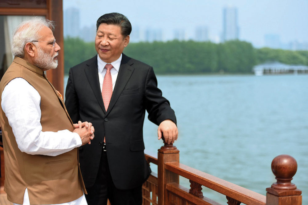China Throws Down a Challenge to India