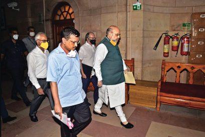 Shah Steps In