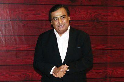 Mukesh Ambani, 63, Industrialist