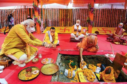 Modi Redeems a Sacred Pledge in Ayodhya