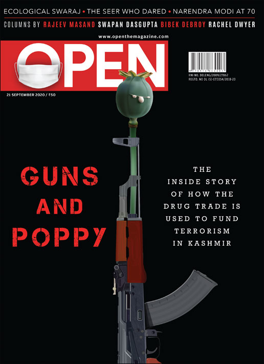 Guns and Poppy in Kashmir