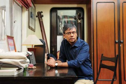 Amit Chaudhuri: 'I place our music in our experience of distraction and listening'
