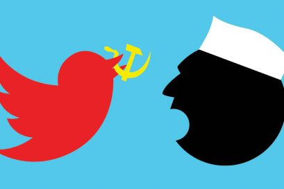 When Social(ist) Media Meets Paranoid State