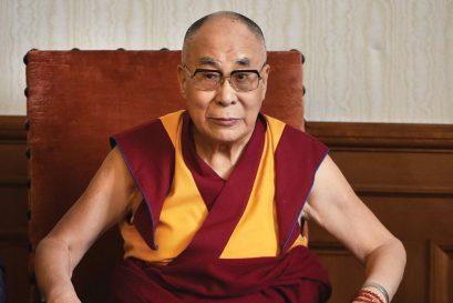 The Dalai Lama@86: Birthday Monk